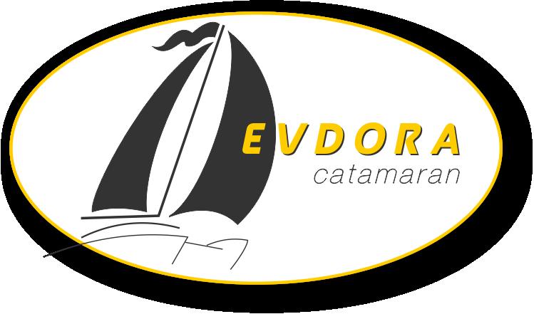 The Catamaran Yacht Evdora in Skiathos