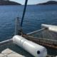 evdora catamaran skiathos sailing